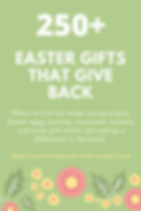 250+ Easter Gifts that Give Back.