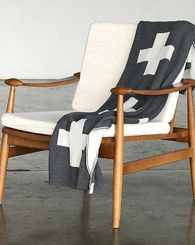Give a Damn Goods Cross Throw Blanket. Ethically made. https://giveadamngoods.com/collections/shop-sustainable-home-goods
