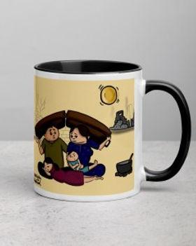 Persona Grata Welcome Refugees Mug for World Refugee Day.