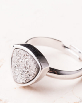 Adored Boutique silver ring. Ethically-made jewelry. https://www.adoredboutique.com/collections/accessories