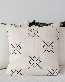 Bought Beautifully bedroom pillows. Ethically-made. https://boughtbeautifully.org/collections/home
