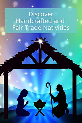 Fair Trade Nativity Decorations for Christmas: Where to Buy Them.