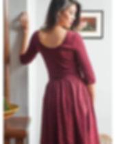 The Lemonade Boutique Novella Dress. Fair trade.