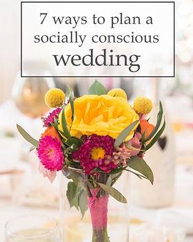 Ten Thousand Villages Socially Conscious Wedding Guide. http://www.tenthousandvillages.com/mosaic/7-ways-to-plan-a-socially-conscious-wedding/