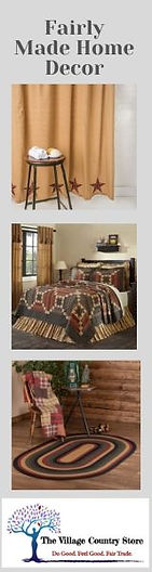 The Village Country Store: Fairly Made Home Decor