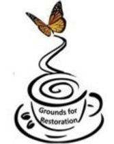 Grounds for Restoration logo. Coffee that gives back 100% of profits to restoring victims of human trafficking. https://gfrcoffee.com/