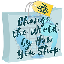 Change the World by How You Shop Logo wi