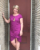 Adored Boutique Sherri Purple Dress. Ethically Made. https://www.adoredboutique.com/collections/dresses