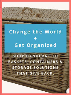 Organization & Storage Products that Give Back