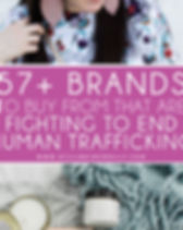 "Still Being Molly Blog: ""57 Brands to Buy From That are Fighting Human Trafficking."""