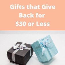 Gifts < $30