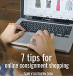 Fairly Southern 7 Tips for Online Consignment Shopping
