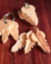 Mango + Main Wooden Keys. Fair Trade