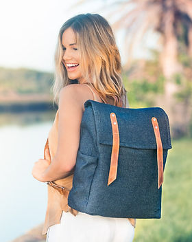Trades of Hope Wayfarer Backpack. Ethically made.