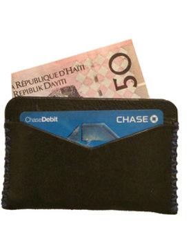 Haiti Design Co leather credit card holder. http://haitidesignco.org/