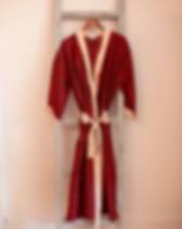 Rahab's Rope Fair Trade Silk Saree Kimono, Made in India