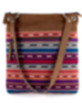 Mayan Hands fair trade tote. Traditionally handwoven design. https://www.mayanhands.org/collections/bags