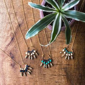 Mango + Main cailyn necklace. Fair trade jewelry. https://mangoandmain.com/collections/jewelry