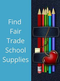 Fair Trade School Supplies