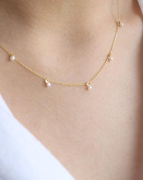 Amma's Umma Pearl Necklace. Ethically-made. https://ammasumma.com/collections/jewelry