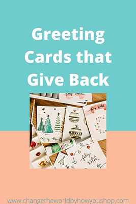 Greeting Cards that Give Back