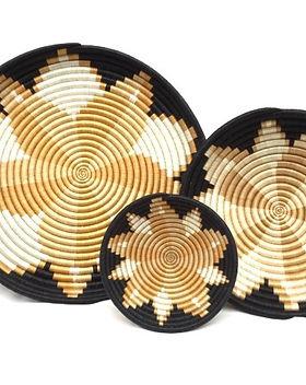 Azizi Life Alexia Basket. Fair trade and handmade in Rwanda. https://azizilife.com/products/#baskets