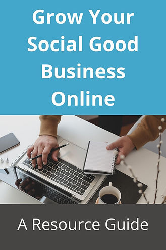 Social Good Business Resource Guide: How to grow your fair trade shop or social good brand online--paid and free resources to help you grow and get found.