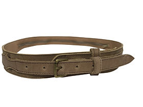 Lazarus Artisan Goods Ethically- Made Leather Explorer Belt.