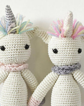 Above Rubies crocheted unicorn. Handmade toys. https://www.etsy.com/shop/2aboverubies?ref=profile_shopname&section_id=19602053