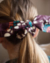 Mango + Main fair trade market bow scrunchies. https://mangoandmain.com/collections/accessories