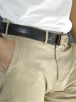 Deux Mains Men's Belt. Ethically-made fashion from Haiti.