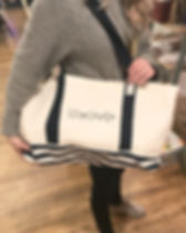 Bought Beautifully Live Out Love beach tote.