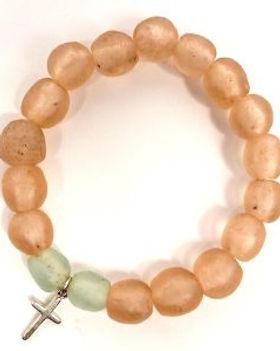 Eternal Threads cross bracelet. Fair trade. Sterling silver cross. https://eternalthreads.org/product/cross-bracelet/