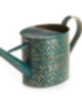 Serrv watering can. Fair trade garden products. https://www.serrv.org/category/garden