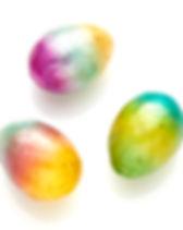 Serrv Capiz Rainbow Eggs. Fair Trade Easter Eggs.