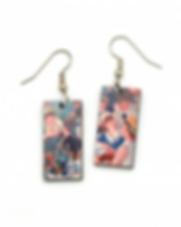 Dunitz and Co. Famous Art Earrings. Fair Trade.