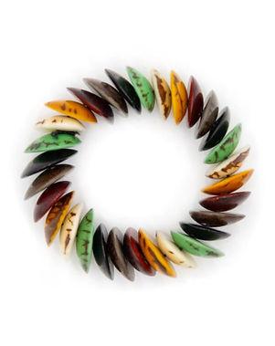 Organic Tagua Jewelry Ivanna Bracelet.