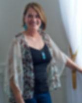 Sak Saum Short Kimono.