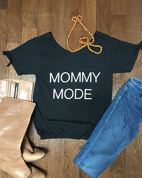 Myrtle and Flossie Mommy Mode T-Shirt.