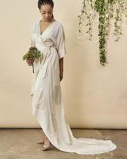 Symbology Fair Trade Wedding Dress.
