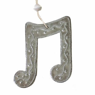 Vineworks Musical Note Ornament.