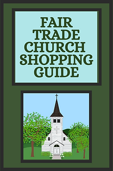 Fair Trade Church Shopping Guide: Mission-based and fair trade products for church, including Christmas, Easter, church decor, nursery, youth group, children's programs and more church products that give back to change lives around the world.