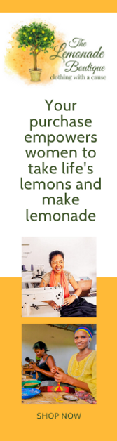 The Lemonade Boutique: Clothing with a Cause: Your purchase allows women to take life's lemons and make lemonade.
