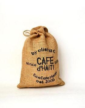 Elisha C. EcoCafe Haiti coffee, directly sourced.
