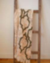 Rahab's Rope Sydney Throw. Handmade.