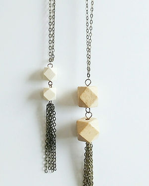 Beljoy Mommy and Me Necklace Set. Ethically made in Haiti.