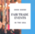 Fair Trade Events & Festivals in the U.S.