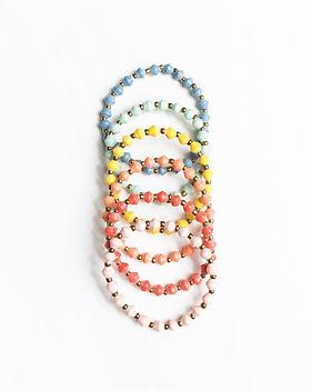 31 Bits Pastel Kids Bracelets.