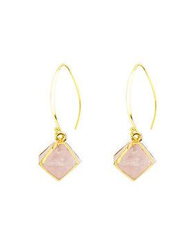 Eden Ministry Desert Rose Earrings. Made by women rescued from human trafficking. https://edenministry.org/