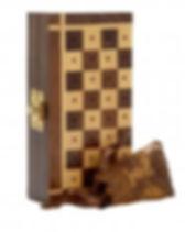 Ten Thousand Villages travel chess set. Fair trade. https://www.tenthousandvillages.com/games-puzzles